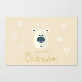 Christmas motif No. 4 Canvas Print