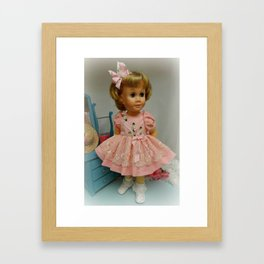 Vintage Chatty Cathy Framed Art Print