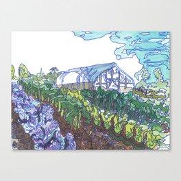 New Dawn Farm Canvas Print