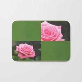 Pink Roses in Anzures 4 Blank Q5F0 Bath Mat