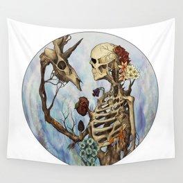 Flourishing Symbiosis Wall Tapestry