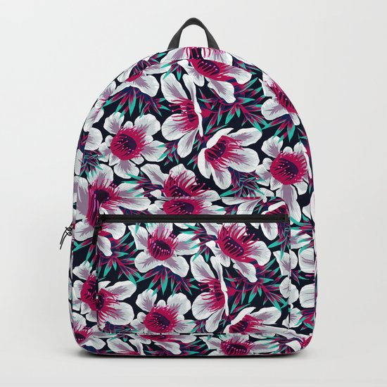 Manuka Floral Print -  Light Backpack