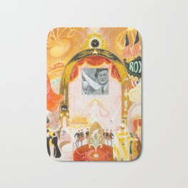 The Cathedrals of Broadway by Florine Stettheimer, 1929 Bath Mat