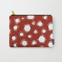 Wine Stain Pattern Carry-All Pouch