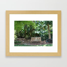Loveseat Framed Art Print