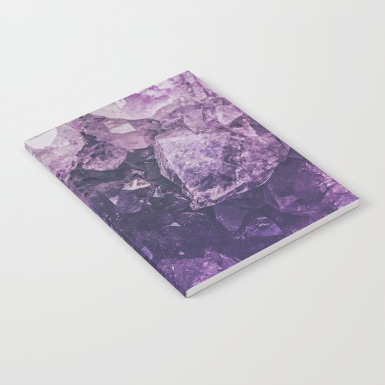 Amethyst Gem Dreams Notebook