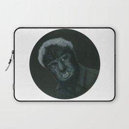 The Wolf Man on vinyl record print Laptop Sleeve