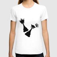 feminism T-shirts featuring Queen Power - Feminism by La Gata Venenosa