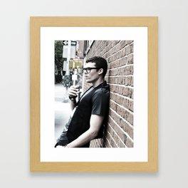 Phonebooths & Chaos Framed Art Print