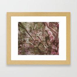 Wetland Trees (colour) Framed Art Print