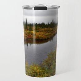Autumn on the Kanuti River Travel Mug