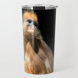 Banded Leaf Monkey Howletts Travel Mug