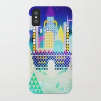 castle in the sky iPhone & iPod Cases featuring Castle in the Sky by Alexander Pohl