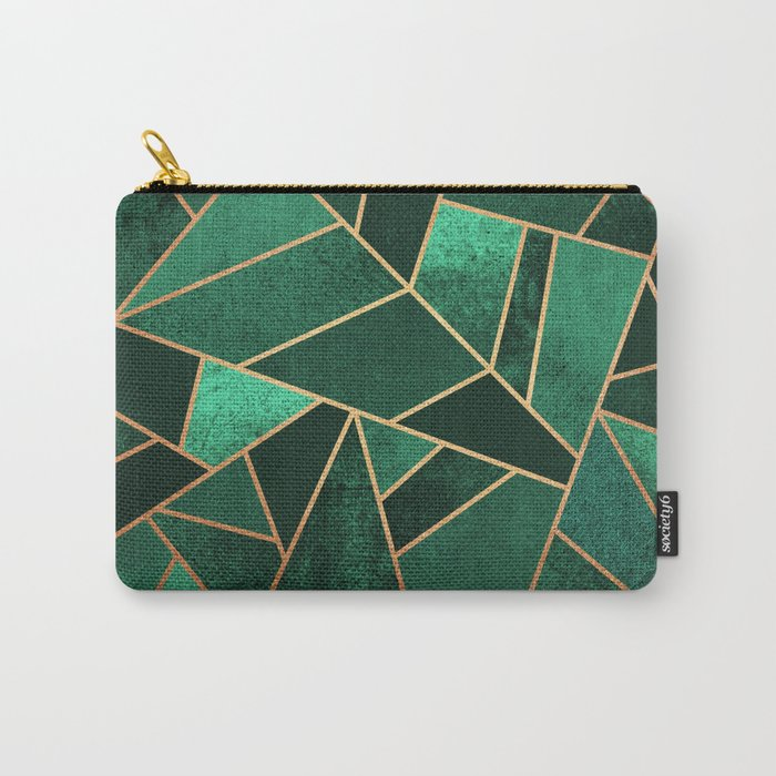 Emerald and Copper Tasche