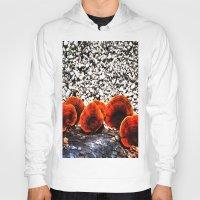 mushrooms Hoodies featuring Mushrooms by Sumii Haleem