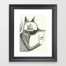 'A Thought' Framed Art Print