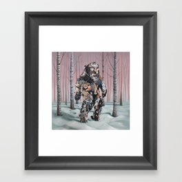 Catsquatch II Framed Art Print
