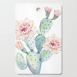 The Prettiest Cactus Cutting Board