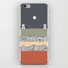 CLIFTON MOON iPhone Skin