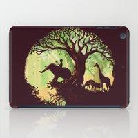 hello iPad Cases featuring The jungle says hello by Picomodi
