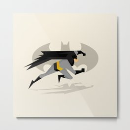 The Bat Illustration Metal Print