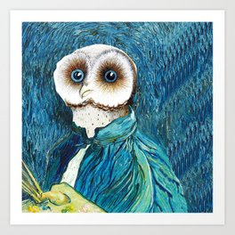VINCENT VAN GOWL, SELF PORTRAIT Art Print