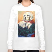elmo Long Sleeve T-shirts featuring Sassy Girl by Thom Lupari