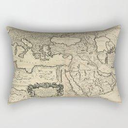 Map of the Ottoman Empire (1680) Rectangular Pillow