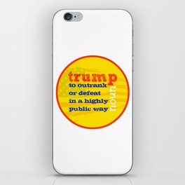 Trump Definition iPhone Skin