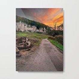 Gwrych Castle Abergele Wales Metal Print