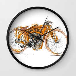 Flying Merkel Wall Clock