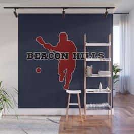 Beacon Hills Lacrosse Wall Mural