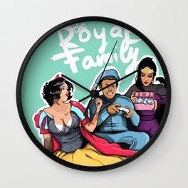 The Royal Family Wall Clock