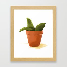 Plant Framed Art Print
