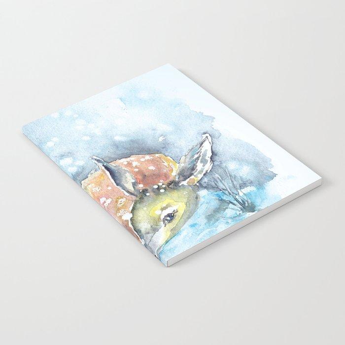 Winter animal #14 Notebook