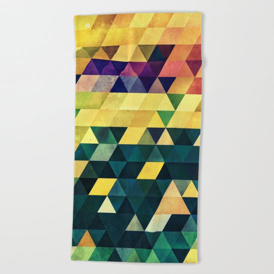 ryx hyx Beach Towel