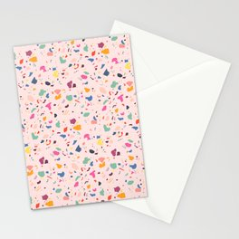 Happy Terrazo Stationery Cards