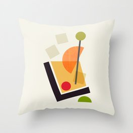 Cocktail II Tom Collins Throw Pillow