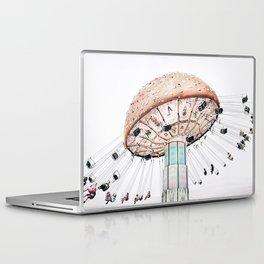 Mushroom Carousel Laptop & iPad Skin