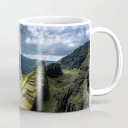 Where Silent Gods Stand Guard Coffee Mug