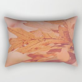 Russet Leaves Rectangular Pillow