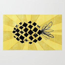 Pineapple Power Rug