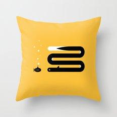 ENCOUNTER - eel Throw Pillow