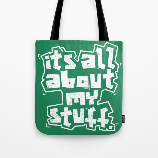 All about it. Tote Bag