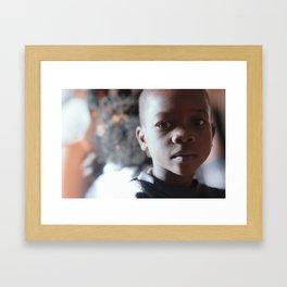 Burkinabe  Framed Art Print