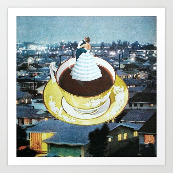 Nightcap Art Print