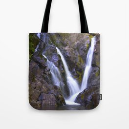 Purple Waterfall Tote Bag