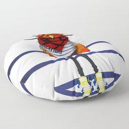 Hipster Bird Floor Pillow