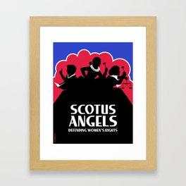 SCOTUS Angels - Tools of Law Nonviolent (Gun-Free) Edition Framed Art Print