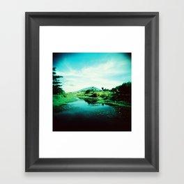 Man-made Lake Framed Art Print